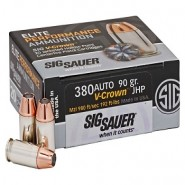 Sig Sauer Elite Performance V-Crown Limit JHP