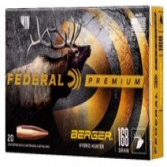 Federal FED PRM HYB HTR Imp Berger Hybrid Hunter
