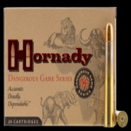 Hornady Dangerous Game DGS Solid