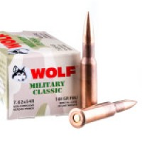 Ammo Wolf Military Classic FMJ