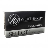 Weatherby Select Hornady Interlock Projectile