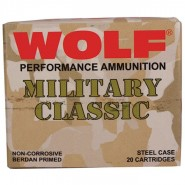 Bulk Wolf Performance Military Classic Springfield FMJ