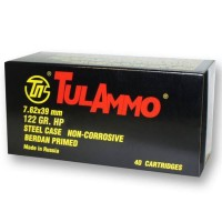 Tula Ammuntion Zinc Steel Cased JHP