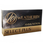 Weatherby Select Plus Hornady Spire Point
