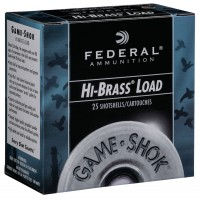 Federal Game-Shok Upland Hi-Brass 1-1/8oz