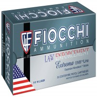 Fiocchi Law Enforcement Extrama FMJ $12.99 Shipping on Unlimited Boxes