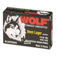 Wolf Performance Steel Luger FMJ