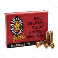 Red Army ELITE Brass Case Polish Mfg FMJ