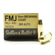 Sellier & Bellot FMJ