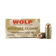 Bulk Wolf Military Classic Steel Free Shipping MPN FMJ