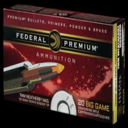 Federal Premium Weatherby Trophy Bonded Tip TB